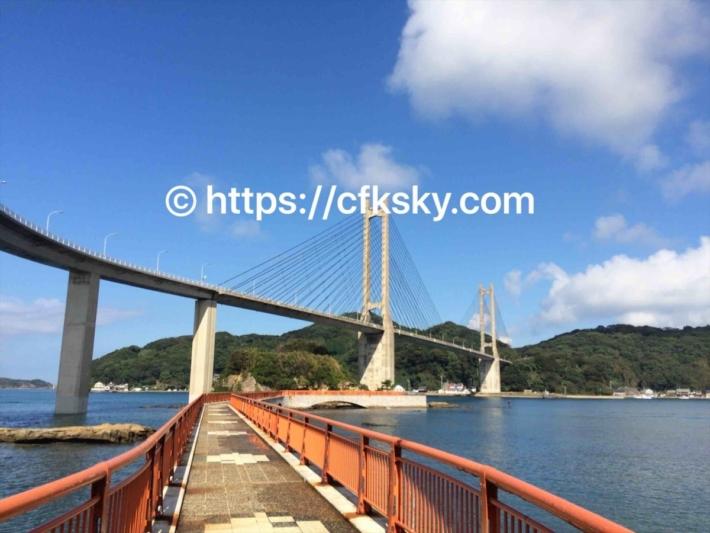 弁天島の遊歩道