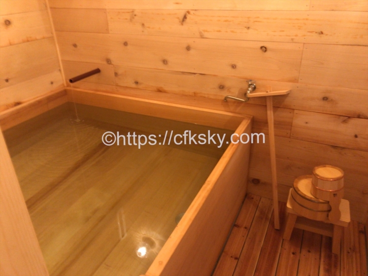 宇佐美城山公園キャンプ場の家族風呂浴室