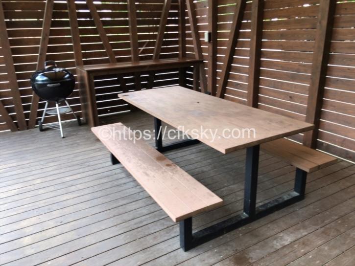 PICA Fujiyamaのテントサイトにある設備