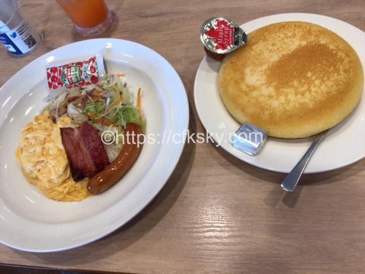 PICA Fujiyamaでのキャンプ翌朝の朝食を食べにガスト富士吉田松山店へ