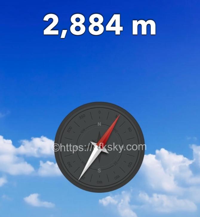 標高2884メートルで楽しむキャンプ