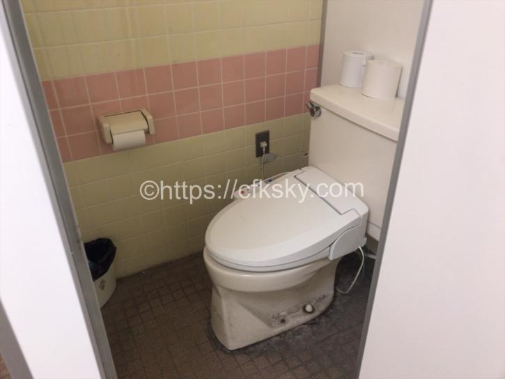 カフェテリア黒菱にあるトイレ