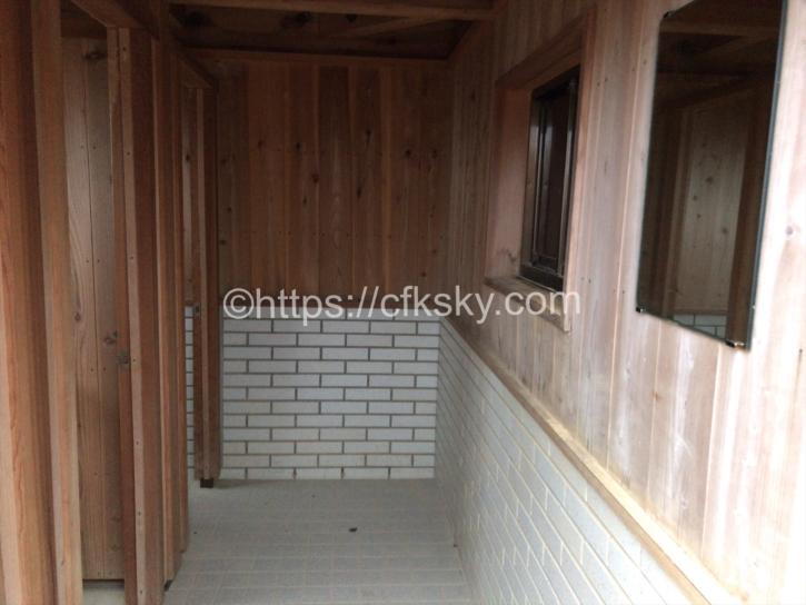 燕岳のトイレ
