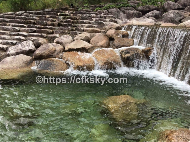 田立の滝オートキャンプ場での川遊びキャンプ