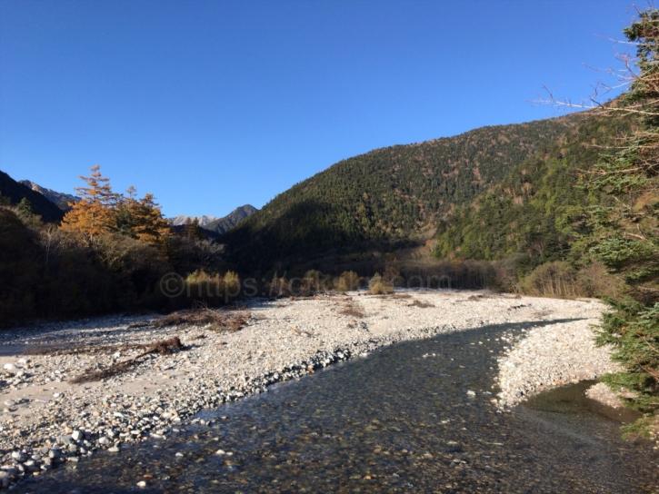新村橋からみた景色