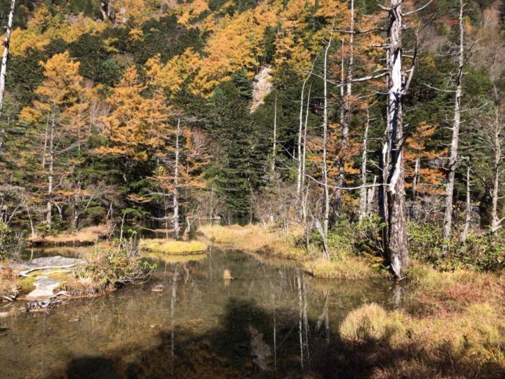 明神二之池の景色
