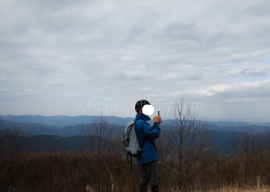 棒ノ折山・棒ノ嶺 の山頂